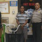 Curi Sepeda Onthel, Warga Surabaya Diringkus di Sidoarjo