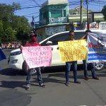 THR Dikemplang, Puluhan Buruh PT SGS Jombang Demo Disnakertrans