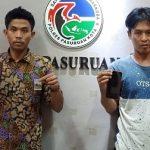 Edarkan Sabu, Karyawan Toko Bangunan dan Seorang Pengangguran di Pasuruan Ditangkap