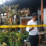 Diduga Akibat Konsleting Listrik, Gudang Kerajinan Batok di Blitar Terbakar