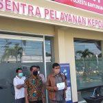 FMPA Kedaleman Banyuwangi Laporkan Kasus Penyewaan TKD ke Polisi