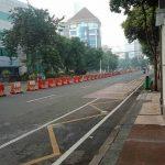 Penularan Covid-19 Tinggi, Sejumlah Ruas Jalan di Surabaya Raya Kembali Ditutup