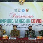 Kampung Tangguh Covid-19 di Lumajang Ubah Status Zona Merah Jadi Kuning
