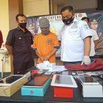 Gasak Belasan Handphone di Kota Probolinggo, Residivis Asal Lumajang Ditangkap