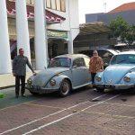 Gaya Nyentrik Rombongan Pejabat PN Sidoarjo, Pakai Mobil VW Kodok Hadiri Acara Dinas Luar Kota