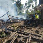Ditinggal ke Pasar, Rumah Warga Ngawi Hangus Terbakar