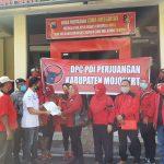 Terkait Pembakaran Bendera, DPC PDIP Kabupaten Mojokerto Lapor Polisi