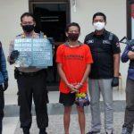 Diringkus Saat Edarkan Sabu, Pemuda Surabaya Pasrah