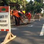 Sempat Ditambal Anggota Dewan, Jalan Brantas Kota Probolinggo Akhirnya Diperbaiki