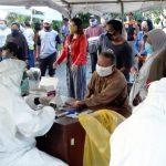 Rapid Test Massal di Pasar Keputran Surabaya, 37 Warga Reaktif