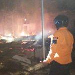 Terbakar, Dua Rumah Kakak Adik di Situbondo Rata Dengan Tanah