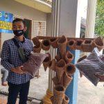 Media Tanam dan Pot dari Sabut Kelapa di Lamongan ini Menembus Luar Kota