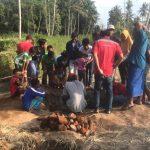 Sesuai Mimpi, Warga Jember Temukan Susunan Bata yang Diduga Gapura Dalam Tanah