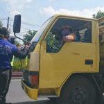 Puluhan Truk di Mojokerto, Terjaring OPS