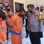 Sadis, Pelaku Pembunuhan di Sidoarjo Tusuk Korban Sebanyak 22 Tusukan Dengan Gunting