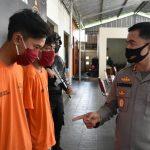 Empat Orang Diringkus Polres Trenggalek Perkara Kekerasan dan Pengrusakan Warung Kopi