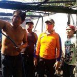 Ditinggal Panen Kacang, Rumah di Desa Palangan Situbondo Terbakar