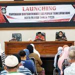 Walikota Blitar Launching Bantuan Rumah Layak Huni di Tiga Kecamatan