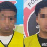Dua Pengedar Sabu-Sabu Dibekuk Polisi di Jalan Taman Golf Surabaya