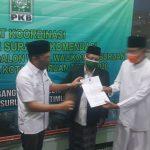 Pilwali Kota Pasuruan, Gus Ipul Resmi Terima Rekomendasi Dari DPP PKB