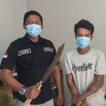 Nyanggong Orang Bawa Sajam, Kuli Bangunan Warga Sukolilo Surabaya Berakhir di Penjara
