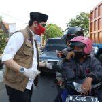 Ribuan Masker Dibagikan kepada Warga Kota Pasuruan