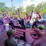 Desak Hakim Hukum Berat Terdakwa Pencabulan, Warga Pasuruan Demo PN Bangil