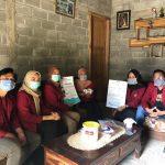 Sosialisasi Covid-19, Mahasiswa UMM Door To Door ke Pelosok Kabupaten Blitar