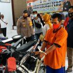 Bersepeda Pancal, Jambret HP di Blitar Tertangkap
