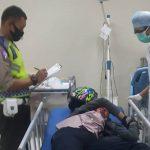 Dua Motor Bertabrakan, 3 Orang Dilarikan ke Rumah Sakit