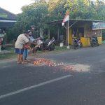 Kecelakaan Sepeda Motor  di Tanggulangin Sidoarjo, Dua Orang Tewas