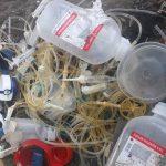 Pemulung Temukan Limbah Medis di Sebuah TPS di Jombang