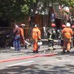 PMK Sempat Kesulitan Padamkan Kobaran Api yang Menewaskan Satu Keluarga di Surabaya