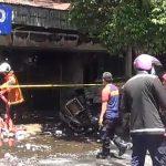 Kebakaran Toko Elektronik di Jalan Kranggan Diduga Akibat Korsleting