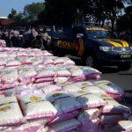 Polres Kota Pasuruan Salurkan Beras 10 Ton Bantuan Kapolri