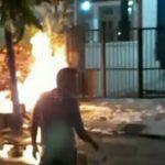 Terdengar Ledakan dan Kebakaran, Saluran Jargas di Lamongan Bocor