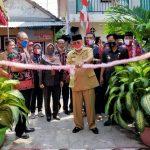Wali Kota Blitar Resmikan Program Kota Tanpa Kumuh di 3 Lokasi