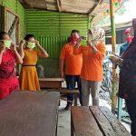 Sidoarjo Kembali Zona Merah, Perusahaan Bagi-bagi Puluhan Ribu Masker