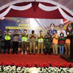 Pemkab Blitar-Polres Blitar Launching Pencanangan Pelaksanaan Inpres Nomor 6 di Pasar Wlingi