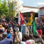 Tolak Raperda RTRW, Massa di Lamongan Kembali Turun Jalan untuk Keempat Kalinya
