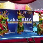 Tarian Khas Lumajang Sambut Kemenkraf dan Komisi X DPR RI Buka Program BISA