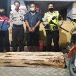 Gegara Dua Balok Kayu Sono, Pria Asal Lamongan Ditangkap di Jombang