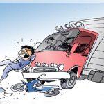 Tabrak Truk di Sidoarjo, Pengendara Motor Luka Berat