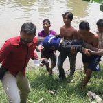 Warga Nganjuk Ditemukan Tewas Tenggelam di Sungai Widas