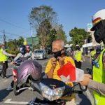 Polres Jember Bagi-bagi 1.000 Masker, Bentuk Rasa Nasionalisme