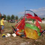 Serunya Festival Layang-Layang di Pantura Lamongan, 'Keranda' dan 'Hantu' Pun Beterbangan