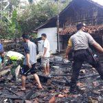Tiga Rumah Terbakar, Satu di Antaranya Rata Dengan Tanah