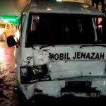 Video: Kecelakaan Beruntun Iring-Iringan Pengantar Jenazah di Jember