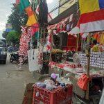 Penjual Pernak-Pernik Kemerdekaan di Mojokerto Raup Jutaan Rupiah Per Hari