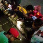 Mancing Lele di Saluran Irigasi, Cara Heboh Warga Jogoroto Jombang Rayakan HUT RI